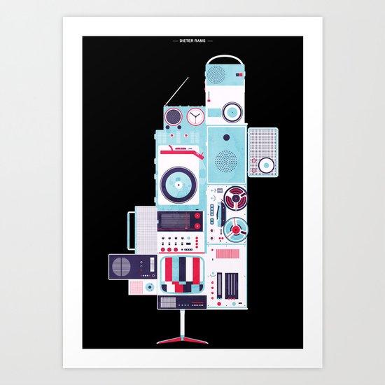Dieter Rams Art Print
