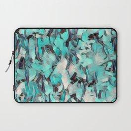 Confetti Caribbean Aqua Laptop Sleeve