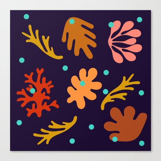 Seaweed and Salt Spray Canvas Print