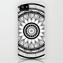 Space Needle Mandala iPhone Case