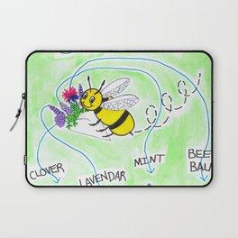 Plant Flowers Bees Like Laptop Sleeve