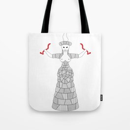 Minoan Snake Goddess Tote Bag