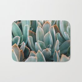 Graptoveria Study #4 Bath Mat