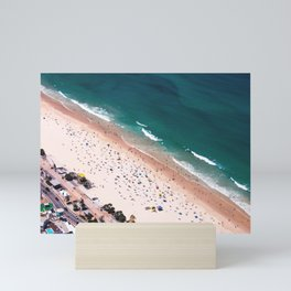 Day of Beach Mini Art Print