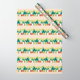 Greens Wrapping Paper