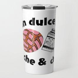 pan dulce con leche & chill Travel Mug