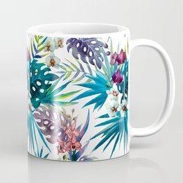 Tropical Watercolor Pattern Var. 6 Coffee Mug