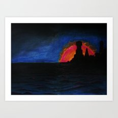 The Last Safe Port Art Print