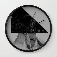 A Triangle Wall Clock