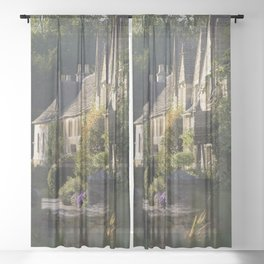 Not the manor Sheer Curtain