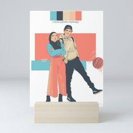 SKAM colour palette challenge YOUSANA Mini Art Print