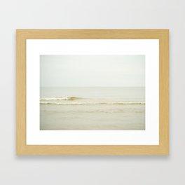 Spring Wave Framed Art Print
