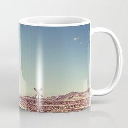 Railroad Crossing California desert Coffee Mug