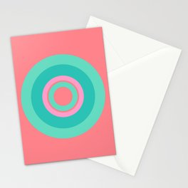 Circle love Stationery Cards