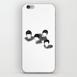 The Fab Four Rock Icon Silhouettes iPhone Skin