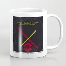 No224 My Star E-II minimal movie poster wars Mug