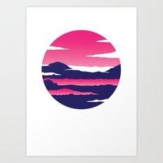 Kintamani Art Print