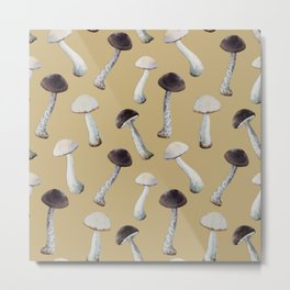 Under the Table and Dreaming Mushroom Print No. 2 Metal Print