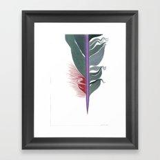 Feather #8 Framed Art Print
