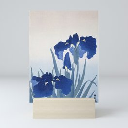 Japanese Iris Flower by  Ohara Koson Mini Art Print