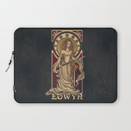 Shieldmaiden of Rohan Nouveau Laptop Sleeve