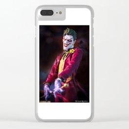 The joker dummy Clear iPhone Case