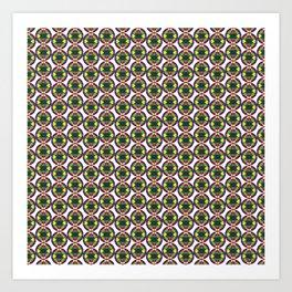 Festive Bead Strand  Art Print