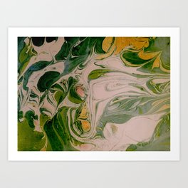 Liquid Forest Art Print
