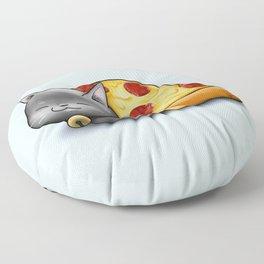 Purrpurroni Pizza Floor Pillow