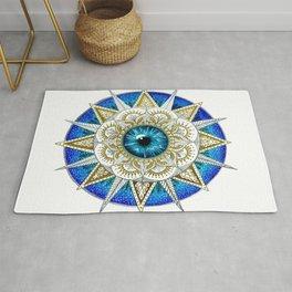 Eye Mandala Rug