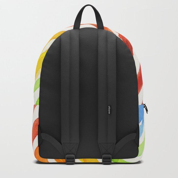 Animal Zebra Rainbow Backpack