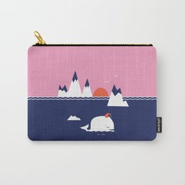Little Whale Carry-All Pouch