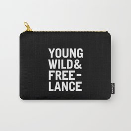 YOUNG WILD & FREELANCE Carry-All Pouch