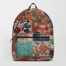 Gypsy Vintage Patchwork Backpack