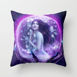 A Captive Heart Throw Pillow