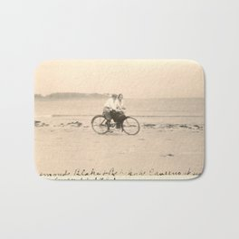 Love on a Bicycle Bath Mat