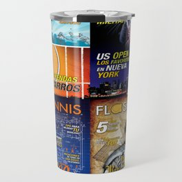 Tennis Magazine Covers Travel Mug