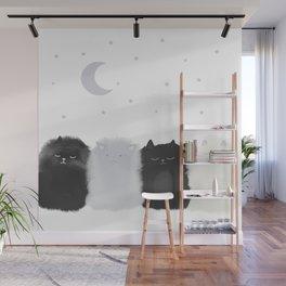 Sleep like Cats Wall Mural