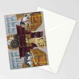 A Dog Day at Court Stationery Cards
