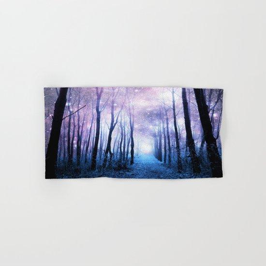 Fantasy Forest Path Hand & Bath Towel
