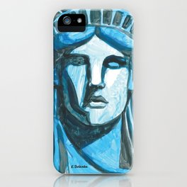 Lady Liberty - I'm With Her iPhone Case