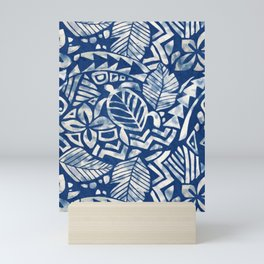 Hawaiian tribal pattern Mini Art Print