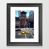 New York Story Framed Art Print