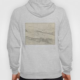 Vintage Map of Nassau Bahamas (1884) Hoody