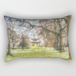 Pagoda Battersea Park Art Rectangular Pillow