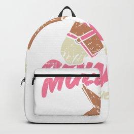 Mule Girl - Mule Riding Backpack