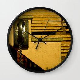 Rotary Ring Wall Clock
