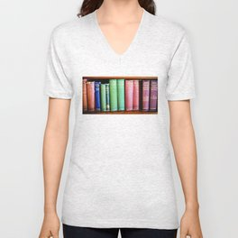 Library Wisdom Unisex V-Neck