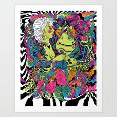 The Sea Death Art Print