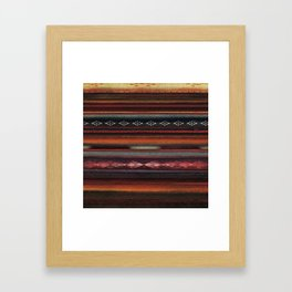 The Travellers Garment Framed Art Print